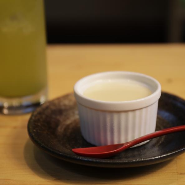 wawa-cafe そば茶ミルクプリン